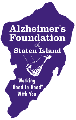 Alzheimer's Foundation Logo (Purple)