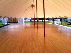 hardwood-floor-under-tent